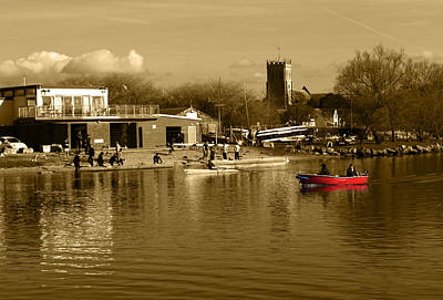 Photograph - Christchurch Harbour by Chris Day