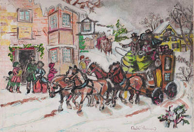 Christmas Buggy Original by David Garren