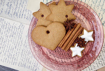 Christmas Gingerbread Art Print by Nailia Schwarz