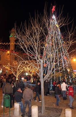 Christmas Tree At Manger Square  Original