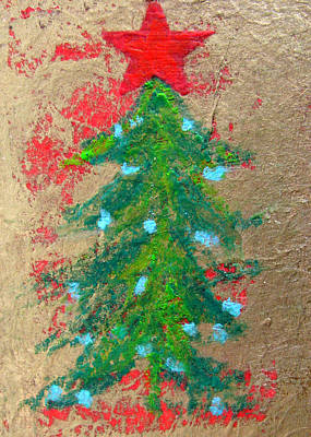 Mixed Media - Christmas Tree by Patricia Januszkiewicz