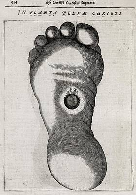 Christ's Stigmata, 17th Century Print by Middle Temple Library
