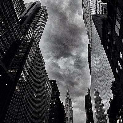 Skyscrapers Photograph - Chrysler Building - New York by Joel Lopez