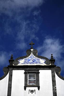 Church In Azores Islands Art Print by Gaspar Avila