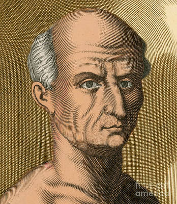 Cicero, Roman Philosopher Art Print by Photo Researchers