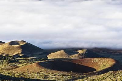 Cinder Cones, Mauna Kea, Hawaii Print by David Nunuk
