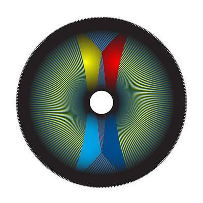 Digital Art - Circle Study No. 2 by Alan Bennington