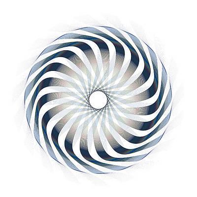 Digital Art - Circle Study No. 6 by Alan Bennington