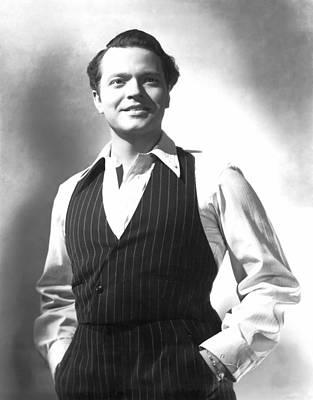 Citizen Kane, Orson Welles, 1941 Art Print by Everett