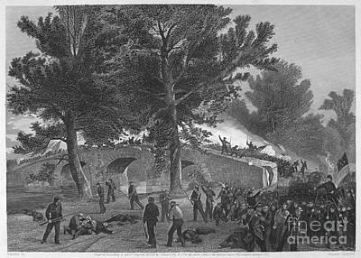 Civil War: Antietam, 1862 Art Print