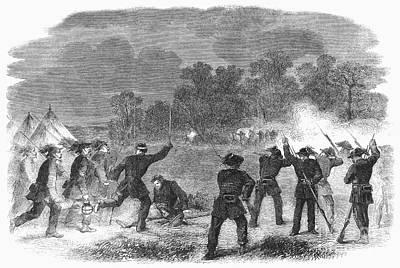 Civil War: Garibaldi Guard Art Print