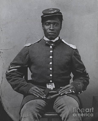 Photograph - Civil War Soldier by Photo Researchers