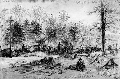 Civil War: Spotsylvania Art Print by Granger