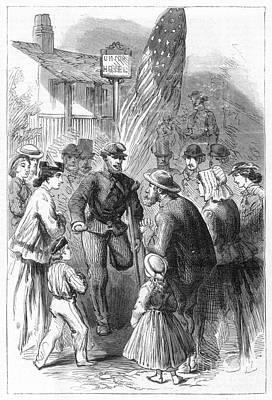 Civil War: Veteran, 1867 Art Print by Granger