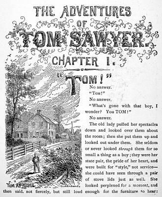 Clemens: Tom Sawyer Art Print
