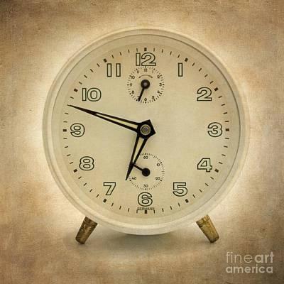Clock Art Print by Bernard Jaubert
