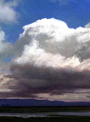 Robert Duvall Painting - Cloud Towers by Robert Duvall