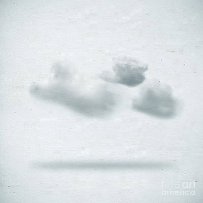 Solar Power Digital Art - Clouds by Setsiri Silapasuwanchai