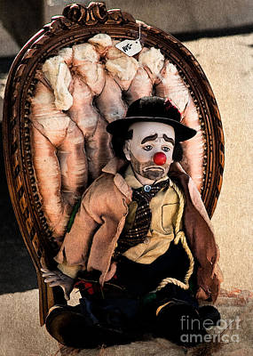 Photograph - Clown Waiting by Bobbi Feasel
