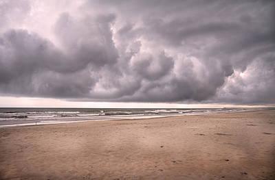 Forecast Photograph - Coastal Storm by Betsy Knapp