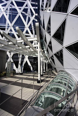 Futurism Architecture Wall Art - Photograph - Cocoon Tower  by Igor Kislev