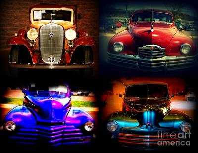 Car Auction Photograph - Collector Cars by Susanne Van Hulst