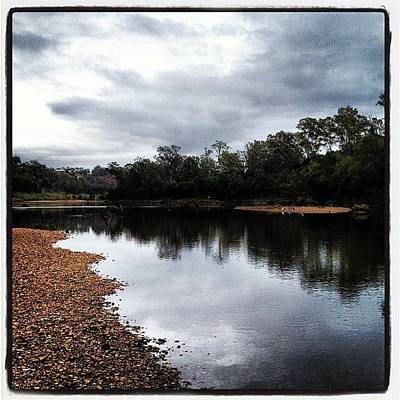 Wall Art - Photograph - Colleges Crossing, Brisbane River by Tony Keim