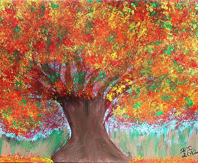 Colors Of Fall Art Print by Paulette Ingersoll