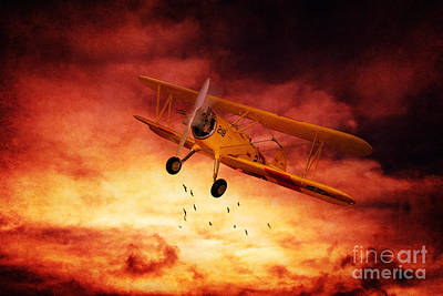 Cs5 Digital Art - Come Fly With Me by Lee-Anne Rafferty-Evans