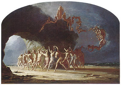 Dancing On The Beach Painting - Come Unto These Yellow Sands by Richard Dadd