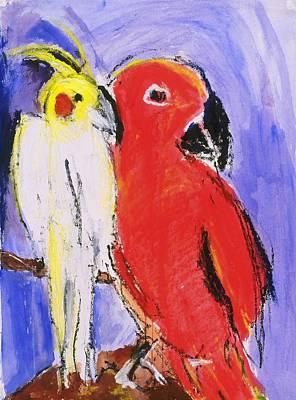 Painting - Companion by Iris Gill