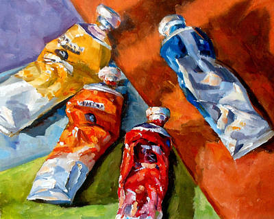 Painting - Complementary Colors by Mark Hartung