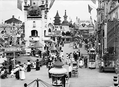 Photograph - Coney Island: Luna Park by Granger