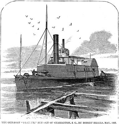 Confederate Ship, 1862 Art Print by Granger