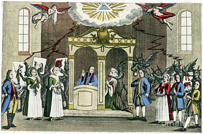 Confessions Photograph - Confession, 18th Century by Granger
