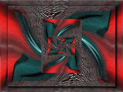 Digital Art - Convergence by Tim Allen