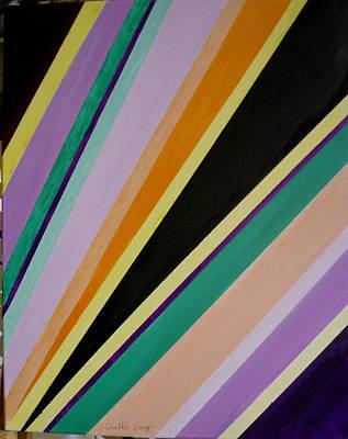 Converging Triangles Art Print by Harris Gulko