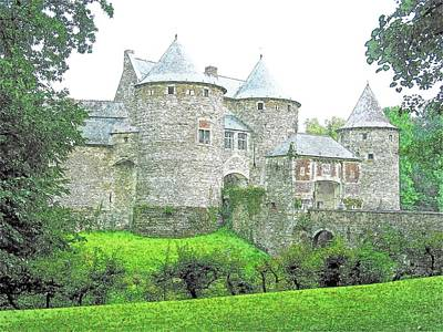 Corroy Le Chateau  Gembloux Belgium Art Print by Joseph Hendrix