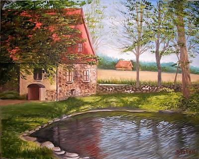 Painting - Country Life by Stefon Marc Brown