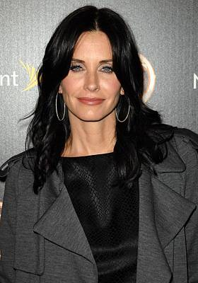 Courteney Cox At Arrivals For Tv Guides Art Print by Everett