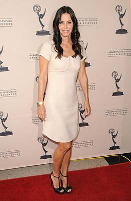 Courteney Cox Wearing A Marc Jacobs Art Print by Everett