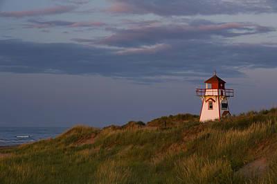Covehead Photograph - Covehead Lighthouse, Prince Edward by John Sylvester