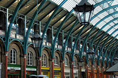 Photograph - Covent Gardens Market by Harvey Barrison