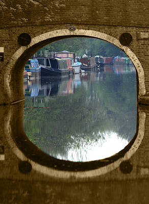 Photograph - Cowley Bridge by Chris Day