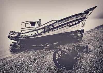 Crab Boat Original by Frank Lee