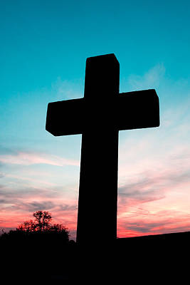 Bible Photograph - Cross  by Tom Gowanlock