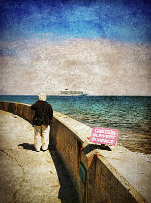 Iphone4 Photograph - Cruise Ship Envy by Lachlan Kay