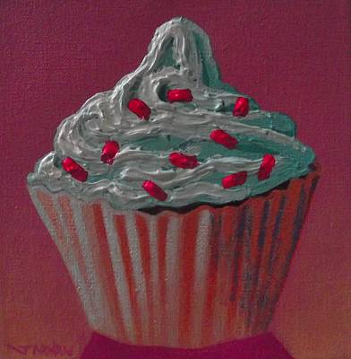 Cupcake Delight Art Print by John  Nolan