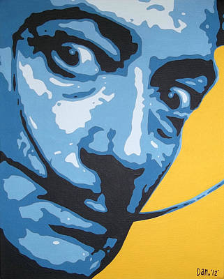 Dali Art Print by Dan Carman
