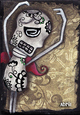 Dance With Me Art Print by  Abril Andrade Griffith